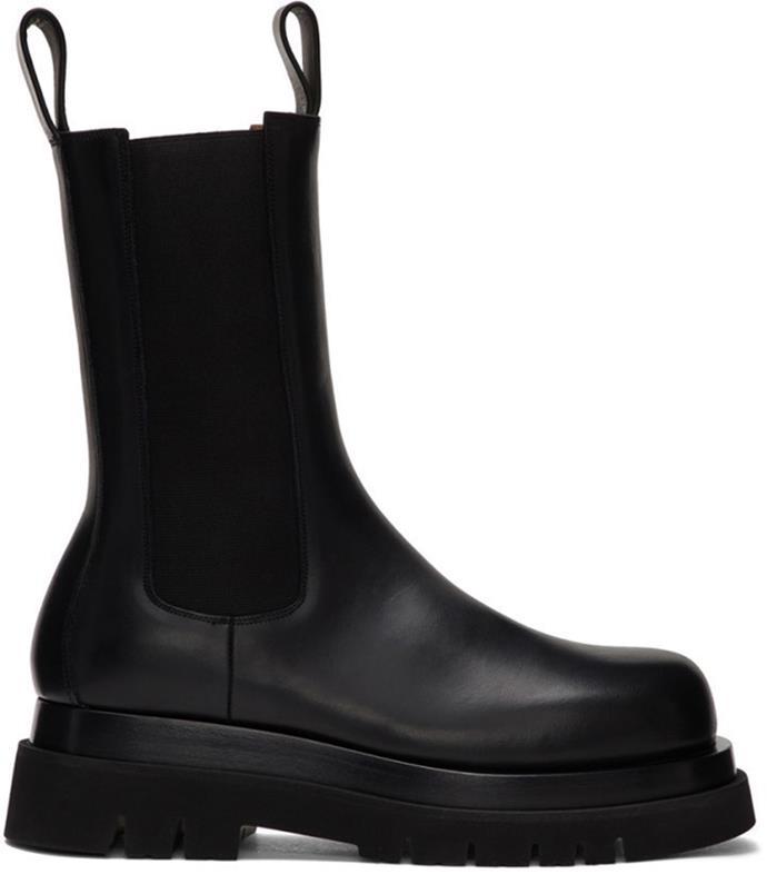 "**'Black Leather Chelsea Boots', $1,420 at [Bottega Veneta](https://www.bottegaveneta.com/au/boots_cod11746644hm.html|target=""_blank""|rel=""nofollow"").**"