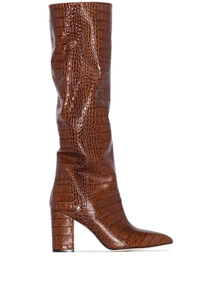"**'Crocodile-Effect 80mm Boots' by Paris Texas, $1,135 at [Farfetch](https://www.farfetch.com/au/shopping/women/paris-texas-crocodile-effect-80mm-boots-item-14034473.aspx?storeid=9359|target=""_blank""