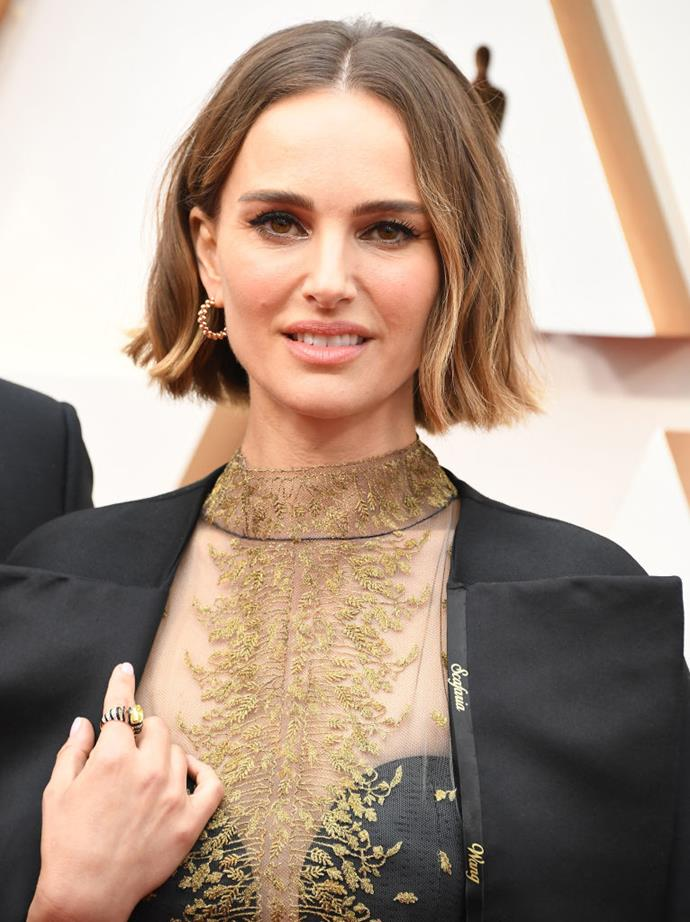 <p>Natalie Portman's real name is Natalie Hershlag.