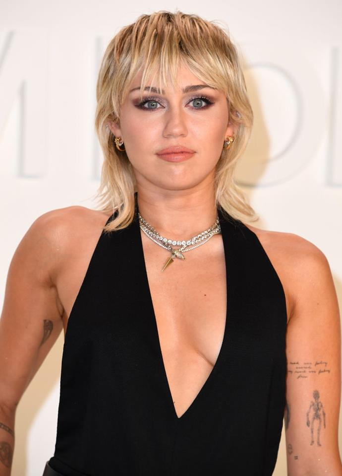 <p>Miley Cyrus' real name is Destiny Hope Cyrus.