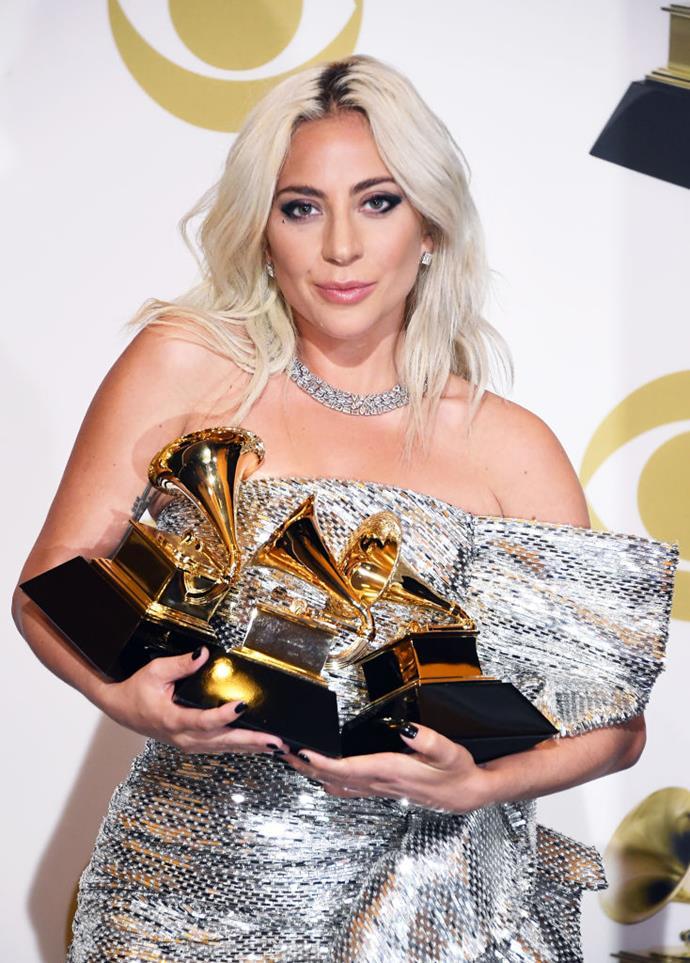 <p>Lady Gaga's real name is Stefani Germanotta.
