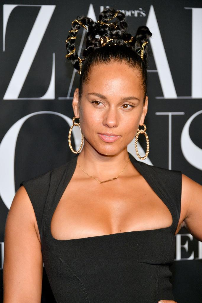 Alicia Keys was born Alicia Augello Cook.