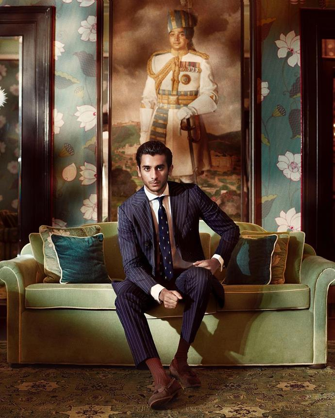 """***Padmanabh Singh, Maharaja of Jaipur, 21***<br><br>  *The prince:* While his title is not officially recognised by law as India is a federal parliamentary democratic republic, 21-year-old Padmanabh Sing is still considered the 'king' of Jaipur. Controlling a fortune of somewhere between AUD $1 to $1.2 billion, he is an accomplished polo player and has even walked the runway for Dolce & Gabbana.<br><br>  *The title:* Maharaja Sawai Padmanabh Singh of Jaipur<br><br>  *The locale:* The stunning and highly Instagrammable 'Pink City' of Jaipur in Rajasthan, India.<br><br>  *Photography by [@tarun_khiwal](https://www.instagram.com/p/BnYuzYdn77P/