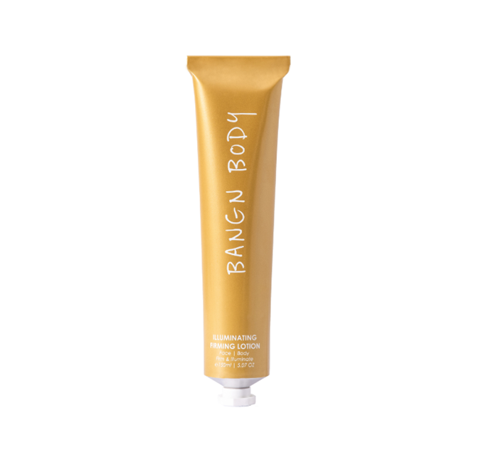 "Illuminating Firming Lotion, $56 by Bangn Body at [MECCA.](https://www.mecca.com.au/bangn-body/illuminating-firming-lotion/I-045369.html|target=""_blank""
