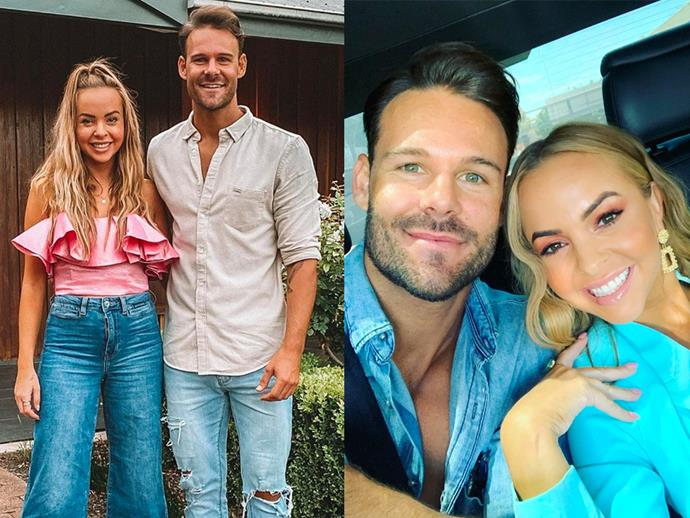"**DATING:** Angie Kent and Carlin Sterritt from *The Bachelorette* Season 5<br><br>  After handing Carlin Sterrit her final rose in the season 5 finale of *The Bachelorette*, the pair seemed more than smitten. Once the episode aired, Kent dedicate a post on her [Instagram](https://www.instagram.com/p/B419vTeFrc6/|target=""_blank""