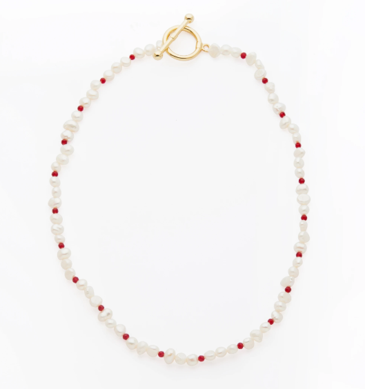 "Winton Necklace, $179 by [Reliquia](https://reliquiacollective.com/collections/neck/products/winton-necklace|target=""_blank""