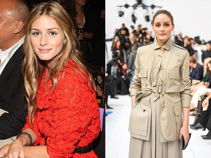 ***Olivia Palermo*** <br><br> Most of us were introduced to Palermo as the 'villain' to Whitney Port on *The City*. And since she starred in the iconic television role, she is now known in the fashion industry as a fashion-forward American socialite.