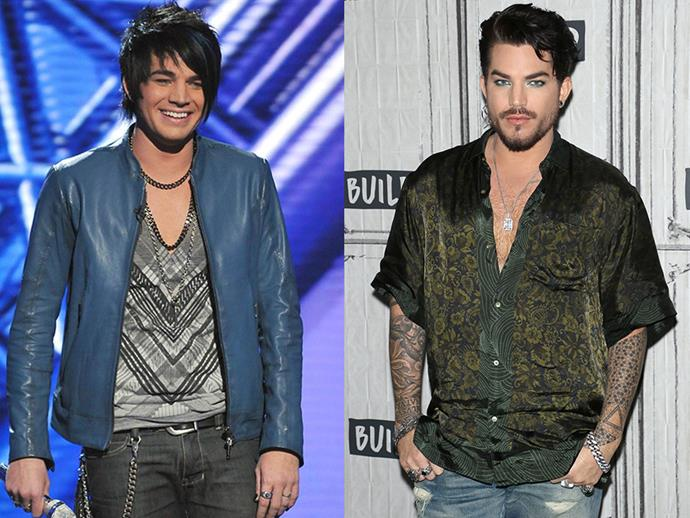 ***Adam Lambert*** <br><br> Lambert is definitely one of the more successful stars to come off the <em>American Idol</em> franchise. He was the show's runner-up in 2009, and since then, his profile has risen so much that he is now the lead vocalist for legendary rock-band Queen.