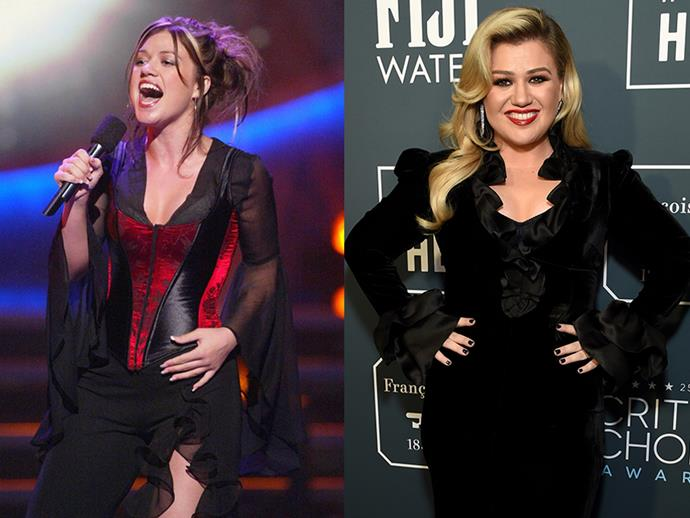 ***Kelly Clarkson*** <br><br> Clarkson made history as the first-ever winner of <em>American Idol</em> in 2002. While, she's still a successful musician with an amazing, powerful voice, she's taken a step back from the spotlight to focus on raising her young family.