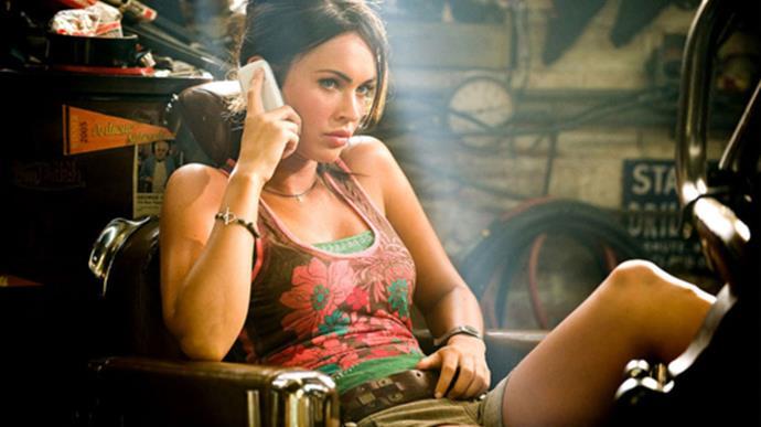 Megan Fox in *Transformers*.