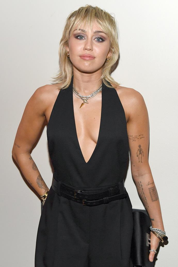 "**Miley Cyrus** <br><br> Opening up about her struggle with depression, Cyrus credits her supportive fans for getting her through her last bout.  <br><br> ""[My fans] know that I've struggled with depression, and that helped them get over theirs. That gives me a big purpose – a reason to wake up in the morning that's bigger than to put on my fucking feathers and my little outfits."""