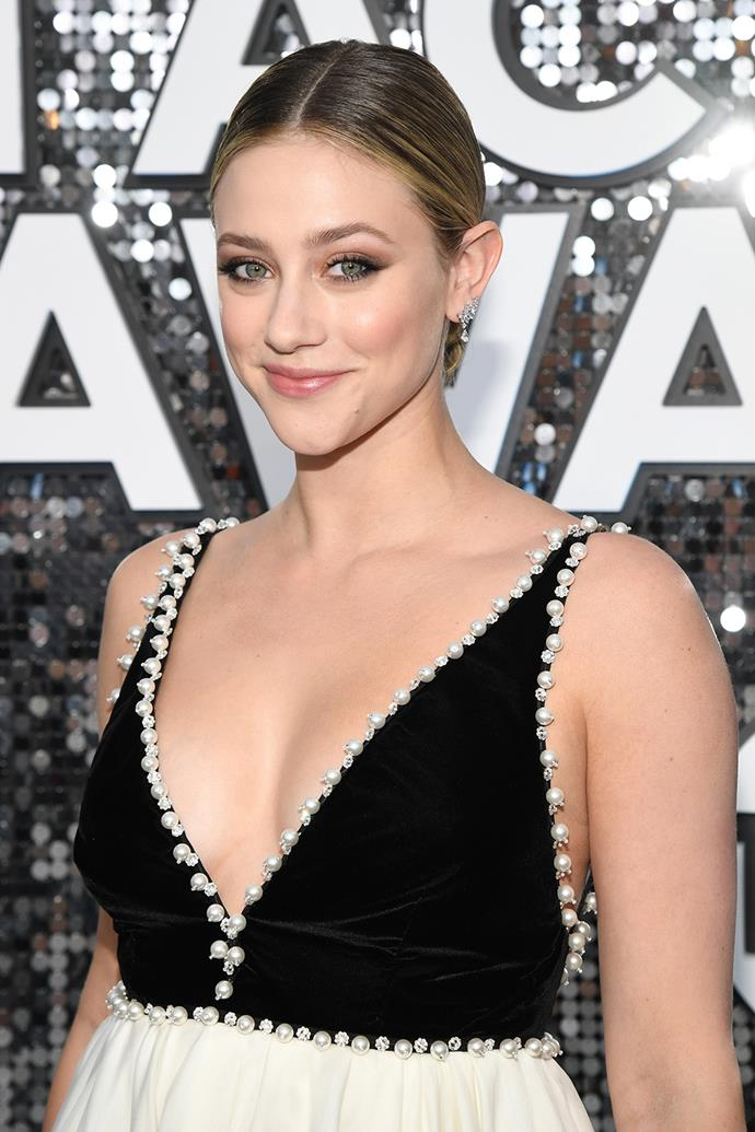 "**Lili Reinhart** <br><br> While we know her as Betty from *Riverdale*, Reinhart has spoken out about her struggle with depression in [a series of tweets](https://twitter.com/lilireinhart|target=""_blank""
