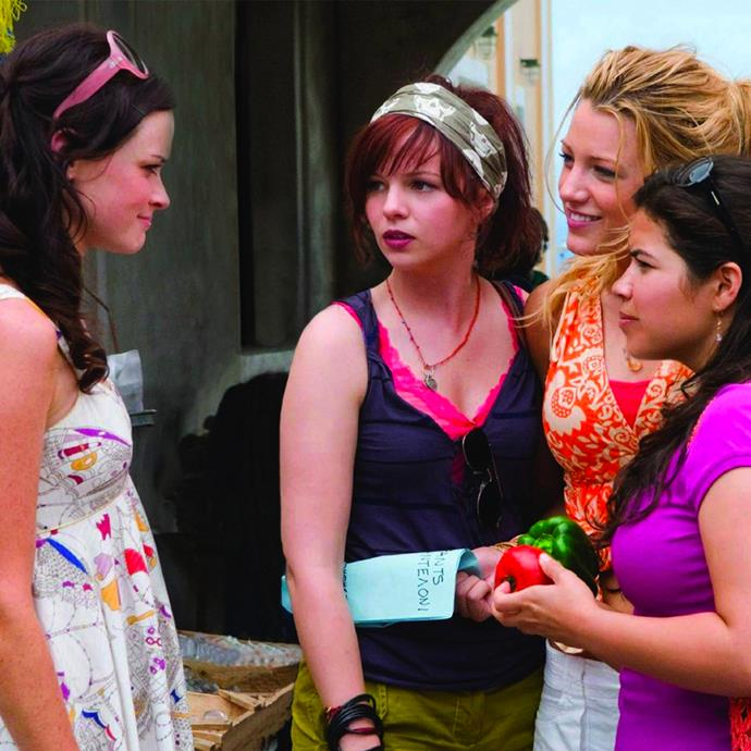 ***Sisterhood Of The Travelling Pants 2***: Four college freshmen, who are also childhood friends, find that it may take more than a shared pair of jeans to keep them in touch as their lives go in different directions. And when romance takes them on a spontaneous trip to Greece, they learn that their friendship is just as important as any guy.