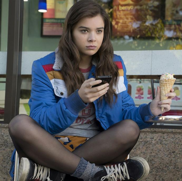***The Edge Of Seventeen***: High school student Nadine, played by Hailee Steinfeld, is already at peak awkwardness when her all-star older brother Darian starts dating her best friend Krista. All at once, Nadine feels more alone than ever, until an unexpected friendship gives her a glimmer of hope that things just might not be so terrible after all.
