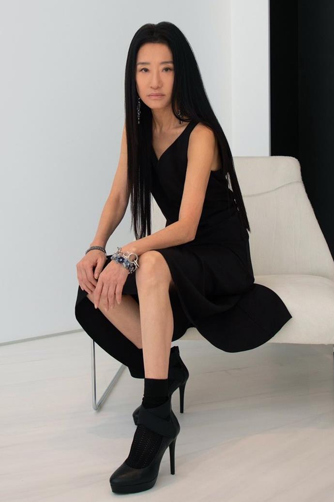 **Vera Wang** <br><br> Legendary designer Vera Wang may look like she's in her 50s, but she is surprisingly 71 years of age, and continues to look amazing.