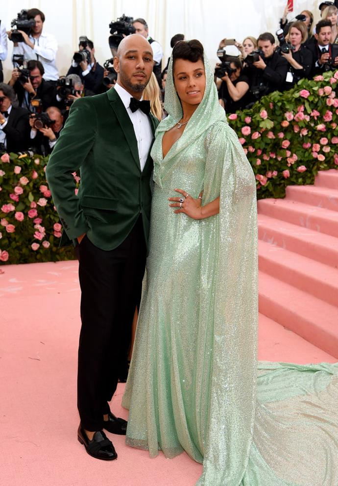 **Alicia Keys and Swizz Beatz**<br><br>  Alicia Keys and Swizz Beatz (real name: Kasseem Dean) share two sons together with rather uncommon names. Their first son, **Egypt**, got his name after Keys took a life-changing trip to the country, and their second son, **Genesis**, seemingly takes his name from the Bible.