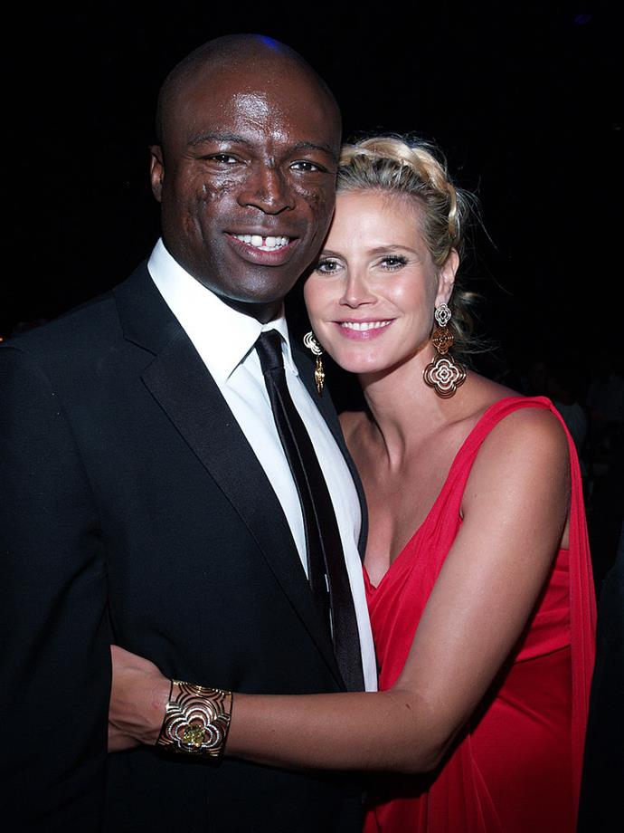 **Heidi Klum and Seal** <br><br> If they told us that they would keep up the matching Halloween costumes, we might not have completely lost it but….
