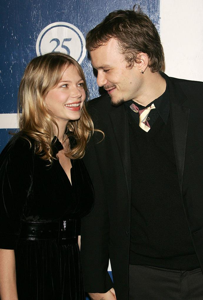 **Michelle Williams and Heath Ledger** <br><br> WE CAN'T.