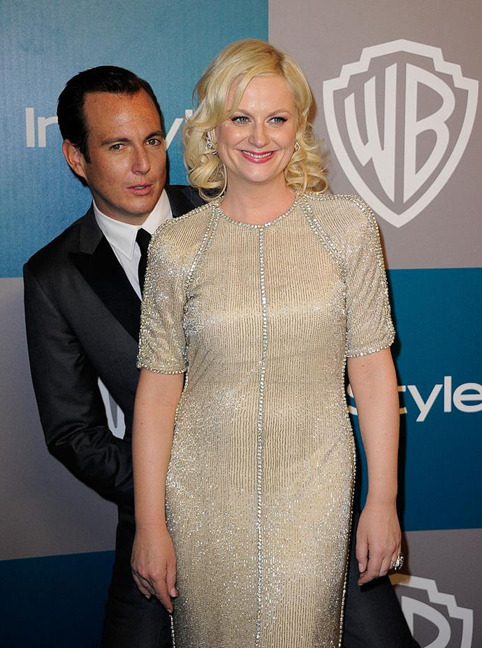 **Amy Poehler and Will Arnett** <br><br> I think what hurts with this one is that there is the belief that the couple that laughs together, stays together, and in many ways that can be true. But that just made this comedic power couple's breakup too worldview-shattering to bear.