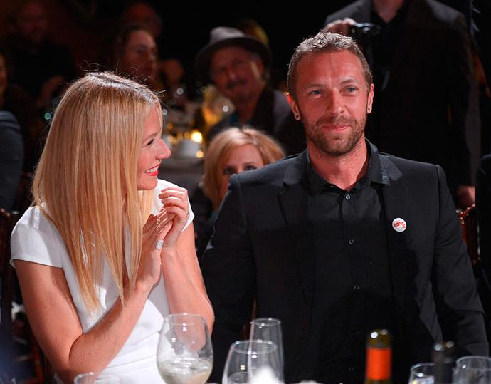 **Gwyneth Paltrow and Chris Martin** <br><br> They were the parents of your dreams! The kind you actually *wanted* to stick around for the party. But while we're sad they didn't make it, we appreciate their heartwarming friendship and they continue to be co-parenting goals.