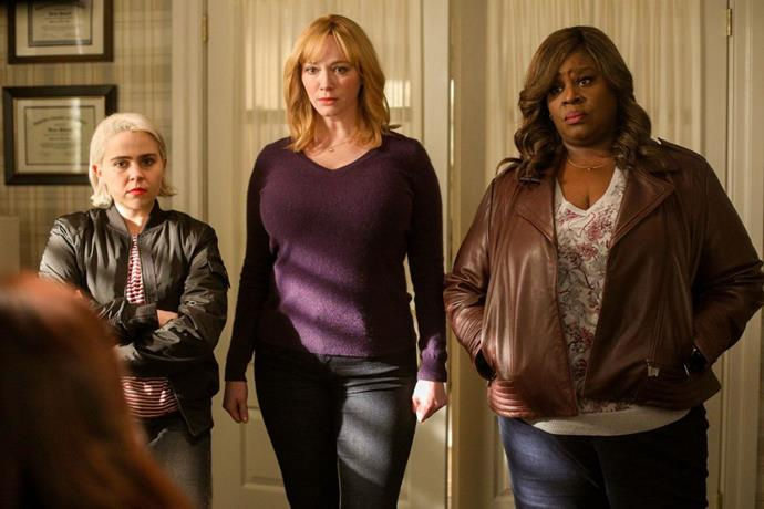 ***Good Girls:*** **Season 3 (26/7/2020)**<br><br>  Suburban mothers-turned-criminals Beth, Ruby and Annie return to face the consequences of last season's hijinks.