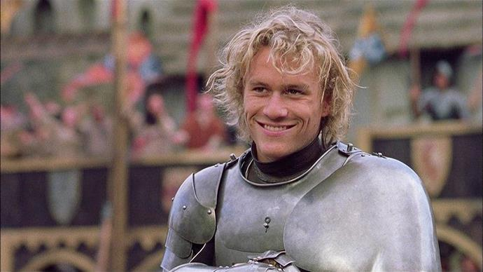 ***A Knight's Tale*** **(1/7/2020)**<br><br>   Peasant-born William Thatcher (Heath Ledger) begins a quest to change his stars, win the heart of an exceedingly fair maiden (Shannyn Sossamon) and rock his medieval world. With the help of friends (Mark Addy, Paul Bettany, Alan Tudyk), he faces the ultimate test of medieval gallantry—tournament jousting—and tries to discover if he has the mettle to become a legend.