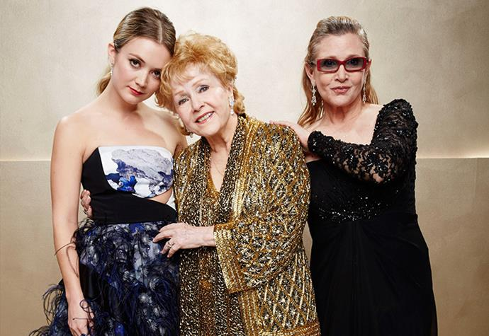 **Billie Lourd** <br><br> While she doesn't share a surname with her famous family, Billie Lourd is the daughter of actress Carrie Fisher, known for her role as Princess Leia in *Star Wars*. Along with her famous mother, Lourd's grandmother was actress Debbie Reynolds, a legendary actress who rose to fame in the musical *Singin' In The Rain*. <br><br> With her entire family in show business, Lourd took to acting like a natural. She has starred in films like, *Booksmart*, plus two *Star Wars* films, all before she was 26 years old. And her career only looks to be taking off from here.