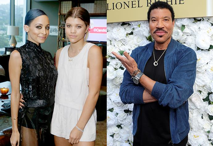 """**Nicole and Sofia Richie** <br><br> While we all know Nicole Richie for her stint on iconic 2000s show *A Simple Life*, her little sister Sofia has recently skyrocketed to fame through her modelling career and relationship with Scott Disick. However, many don't realise that the siblings share a famous father: Lionel Richie. <br><br> Known for hit songs like """"Hello"""" and """"All Night Long"""", the legendary musician has had an almost 40 year music career, but has since moved onto the judging panel of *American Idol*. And while his music career made him one of Hollywood's most famous, his daughters look to have taken his spot."""