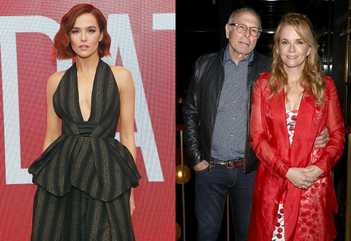 **Zoey Deutch** <br><br> While you may recognise her from the Netflix rom-com *Set It Up*, and political drama *The Politician*, Zoey Deutch is becoming one of the biggest names in Hollywood, and she's only 25 years old. <br><br> Her mother Lea Thompson, is most famous for her role in *Back To The Future*, while her father Howard Deutch, is most known for directing hit films such as *Pretty In Pink* and *Some Kind Of Wonderful*. With parents like these, there's no wonder why the film industry is in her veins.