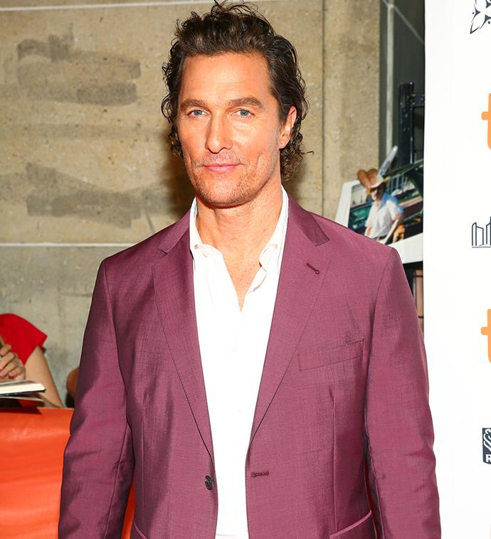 "***Matthew McConaughey ([@officiallymcconaughey](https://www.instagram.com/officiallymcconaughey/|target=""_blank""