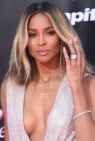 **Ciara**<br></br> Ciara nails the chic-yet-effortless aesthetic with grown-out balayage.