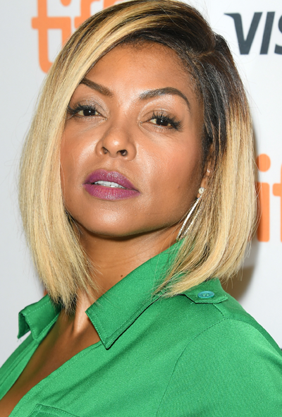 **Taraji P. Henson**<br></br> Put away the root-concealing powder; Henson proves it's not needed.
