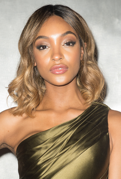**Jourdan Dunn**<br></br> Dunn's cocoa-to-honey hybrid hue frames her face beautifully.