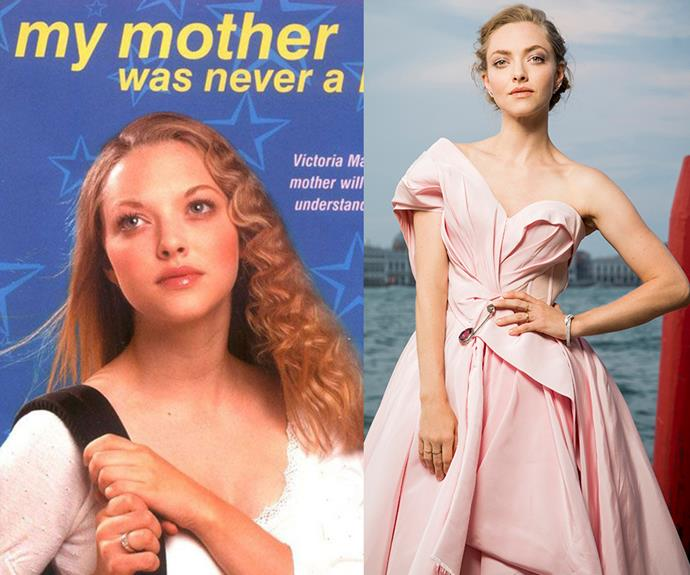 **Amanda Seyfried** <br> Amanda Seyfried got her start modelling for the cover of a series of books by *Sweet Valley High* author, Francine Pascal. Which can only prove that not all modelling jobs are glamorous.