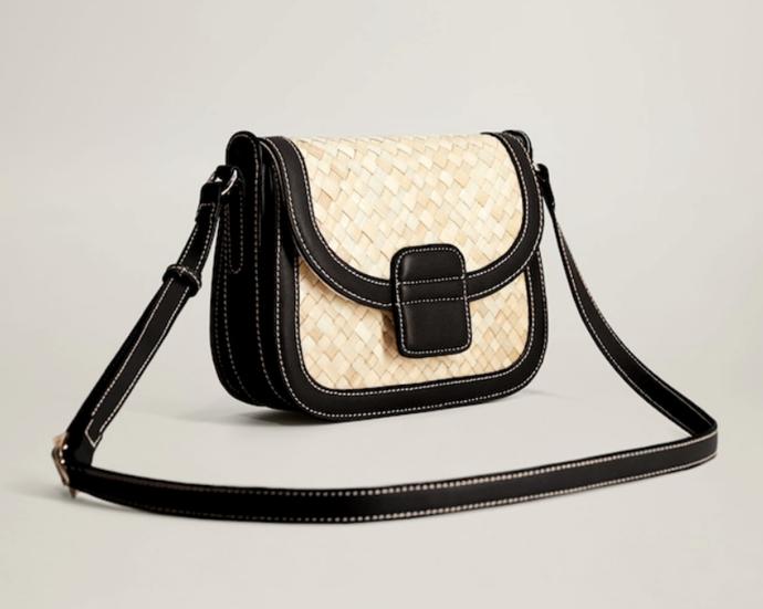 "Braided Design Bag, $59.95 by [Mango](https://shop.mango.com/au/women/bags-shoulder-bags/braided-design-bag_67055960.html|target=""_blank""|rel=""nofollow"")."