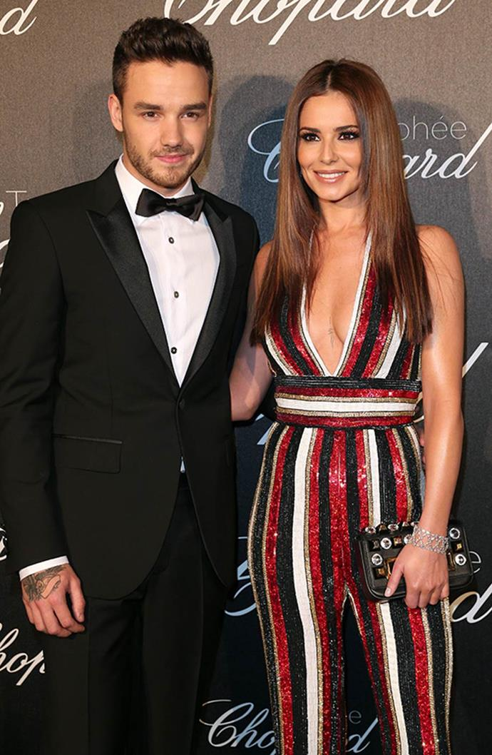 **Liam Payne and Cheryl Tweedy** <br><br> The pair first met when Payne auditioned on *The X Factor* back in 2009, where Tweedy was on the judging panel. Payne then went on to mega-stardom thanks to his time in One Direction, and the couple became an official item in 2016. During their relationship, they welcomed their first, Bear Payne, but are no longer together.