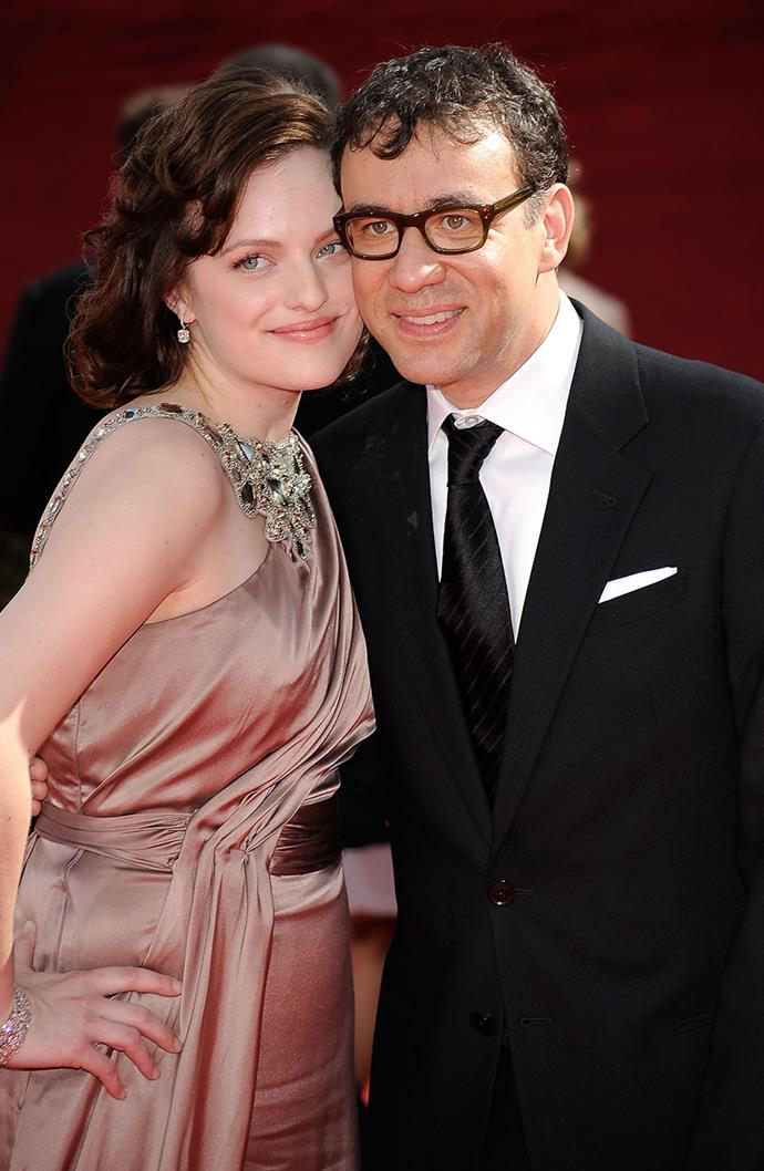 """**Elisabeth Moss and Fred Armisen** <br><br> After getting married in 2009, actress Elisabeth Moss and comedian Fred Armisen separated after a mere 10 months wed, resulting in one of the most memorable celebrity interviews of all time. Speaking to *[Page Six](https://ew.com/article/2012/03/08/elisabeth-moss-fred-armisen-page-six-interview/