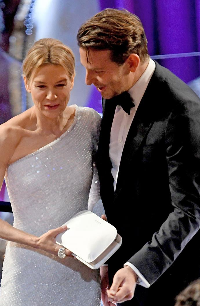 **Renée Zellweger and Bradley Cooper** <br><br> The two enormously successful stars would have been a force to be reckoned with if they were still together today. The pair dated for two years, between 2009 to 2011, after meeting on the set of *Case 39*.
