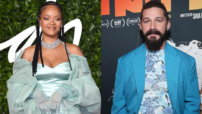 """**Rihanna and Shia LaBeouf** <br><br> Rihanna's personal life has always been notoriously private, however the musician did share a time when she and Shia LaBeouf dated. Back in 2007, the pair dated after Rihanna texted LaBeouf asking if he wanted to go to dinner. Telling *Playboy*, """"I was filming a sword fight when I got the message. I said, 'Can this be my life?' It never got beyond one date. The spark wasn't there. We weren't passionate about each other in that way, so we remain friends."""""""