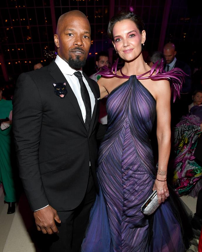 <p><strong>Jamie Foxx and Katie Holmes</strong><br><br>Rumours about Foxx and Holmes' apparent relationship first began circulating in 2013, after they were spotted dancing together at a charity event. However, due to Holmes' ties to Scientology through her ex-husband Tom Cruise, their relationship didn't go public until August 2016. Unfortunately, the pair have since split.