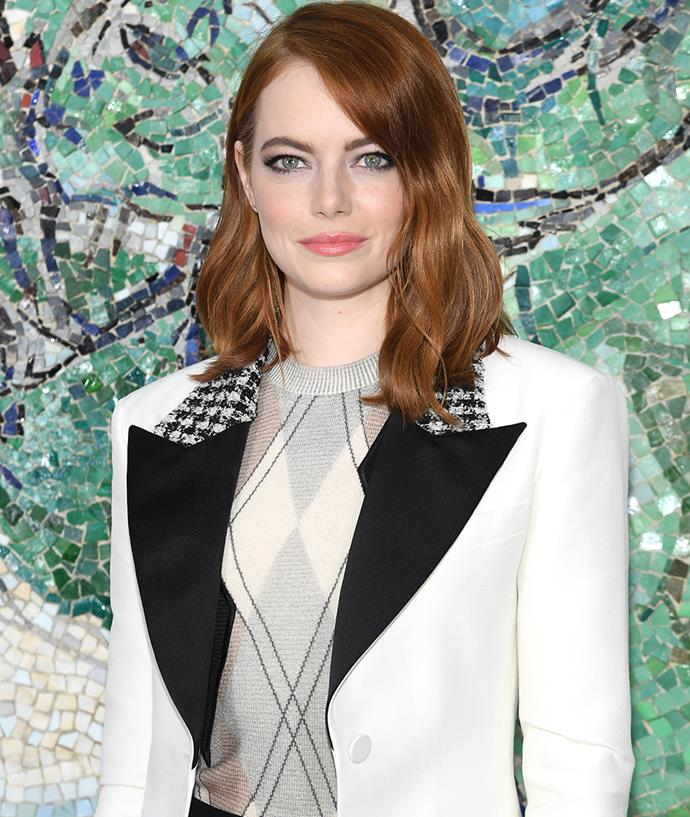 "**Emma Stone** <br><br> Emma Stone has always kept her personal life relatively private compared to other celebrities. Speaking to *[ELLE U.S.](https://www.elle.com/culture/a22718593/emma-stone-jennifer-lawrence-turning-30-maniac-family/|target=""_blank""