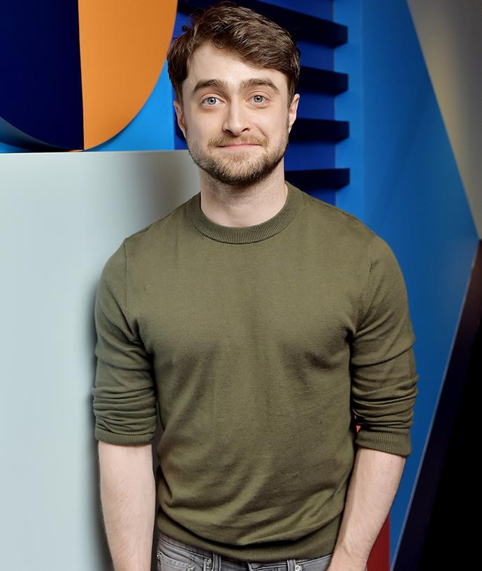 "**Daniel Radcliffe** <br><br> Revealing in an interview with *[SkyNews](http://news.sky.com/story/1171481/daniel-radcliffe-warns-social-media-celebrities|target=""_blank""
