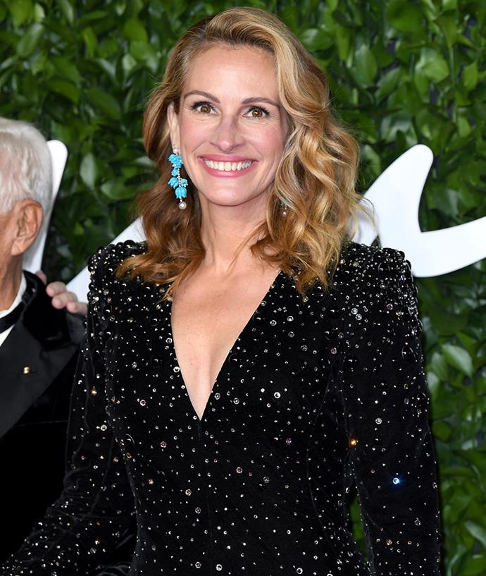 "**Julia Roberts** <br><br> Offering a sweet comparison, Julia Roberts opened up to *[Marie Claire U.S.](http://www.marieclaire.com/celebrity/a8520/julia-roberts-december-cover-interview/|target=""_blank""