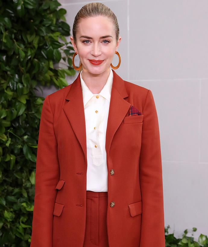 "**Emily Blunt** <br><br> While talking to [*Vulture*](https://www.vulture.com/2015/12/emily-blunt-sicario.html|target=""_blank""