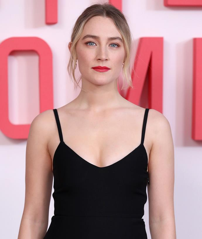 "**Saorise Ronan** <br><br> In an interview with *[TheWrap.com](https://www.thewrap.com/how-lady-bird-star-saoirse-ronan-grew-up-and-got-off-twitter/|target=""_blank""