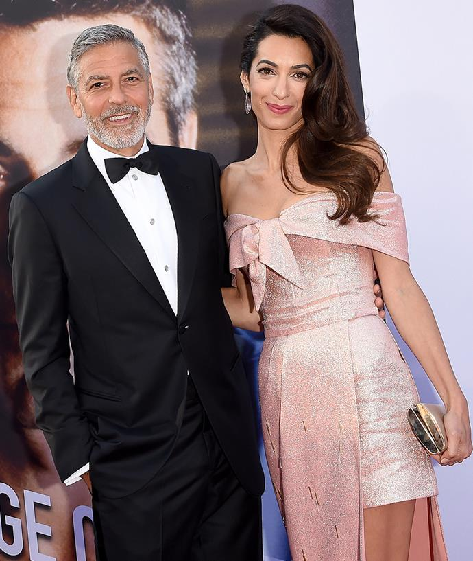"**George and Amal Clooney** <br><br> With an impressive career as an international law and human rights barrister, we doubt that Amal Clooney even has time for social media. However, she has never given a reason for not using it, though her husband, George Clooney, has [mentioned](https://variety.com/2014/film/features/george-clooney-explains-why-hell-never-join-twitter-1201086434/|target=""_blank""