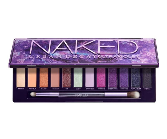 "**Naked Ultraviolet Palette by Urban Decay, $83 at [MECCA](https://www.mecca.com.au/urban-decay/naked-ultraviolet/I-043403.html|target=""_blank""