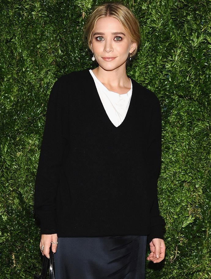 **Ashley Olsen**<br><br>  While the Olsen twins' private life is typically under lock-and-key, there's one thing we know for sure: Ashley is a smoker. Known to smoke Marlboro Reds, she is often photographed on smoking breaks throughout her work day.