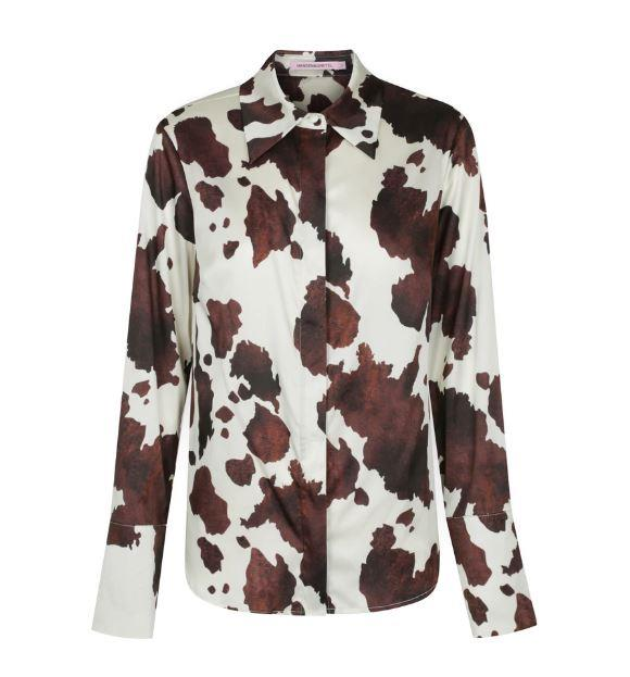"Jasper Shirt in Bovine, $134.50 by [Hansen & Gretel](https://hansenandgretel.com/shop/samples/sample-tops/jasper-shirt-bovine/|target=""_blank""