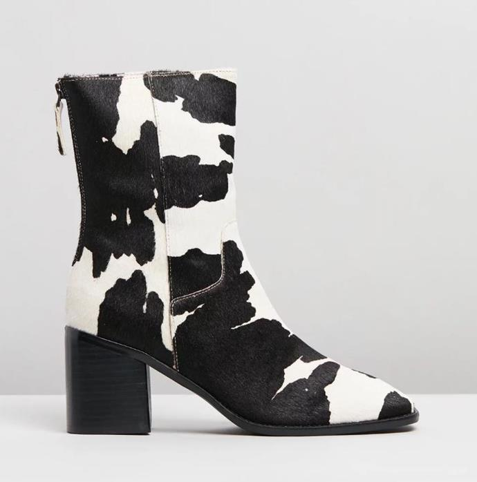 "PG Moo Boots, $399 by Intentionally Blank at [The Iconic](https://www.theiconic.com.au/pg-1087401.html|target=""_blank""